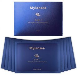 Mylansea Anti-Aging Eye Mask Treatment for Puffy Eyes, Under Eye Mask for Dark Circles and Fine Lines with Key Ingredient EGF and Sodium HYALURONATE, 12 Pairs