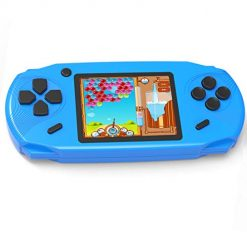 Luddy 16 Bit Handheld Games for Kids Adults 3.0'' Large Screen Preloaded 100 HD Modern Video Games Seniors Electronic Game Player for Boys Girls Birthday Xmas Present (Blue)