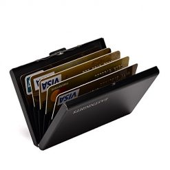 RFID Credit Card Holder Credit Card Wallet Protector Stainless Steel Credit Card Case Metal Wallets for Women or Men