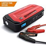 Spacekey Jump Starter, Jump Starter by Spacekey - 800A Peak 18000mAh Portable Car Jump Starter (Up to 6.5L Gas or 5.5L Diesel), Auto Battery Booster, Phone Charger, Power Pack with Built-in Dual Output, and LED FlashlightJump Starter by Spacekey - 800A Peak 18000mAh Portable Car Jump Starter (Up to 6.5L Gas or 5.5L Diesel), Auto Battery Booster, Phone Charger, Power Pack with Built-in Dual Output, and LED Flashlight