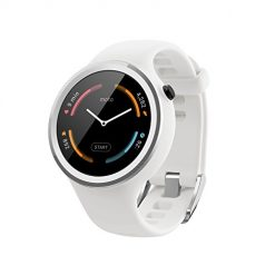 Android Smart Watch, Motorola Moto 360 Sport - 45mm, White