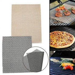 Idomeo Durable Practical Reusable Home Outdoor Non-stick Barbecue Grill Mesh Mat Outdoor Cooking Tools & Accessories