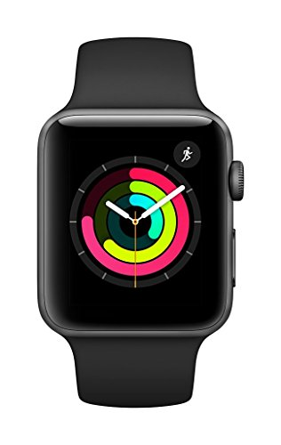 Smartwatches, Apple Watch Series 3 (GPS, 42mm) - Space Gray Aluminium Case with Black Sport Band