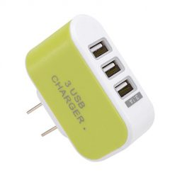 Onbay 3 Port USB Wall Home Travel AC Charger Adapter for Phone Portable Wall Chargers