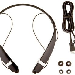LG Electronics Tone Pro HBS-760 Bluetooth Wireless Stereo Headset - Retail Packaging - Black