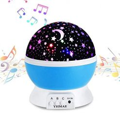 Rechargeable Stars Moon projector Lamp