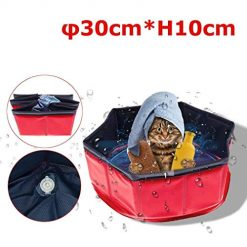 ICCUN Portable Durable Dog Cat Bath Pool Outdoor Indoor Pet Supplies Bath Conditioners