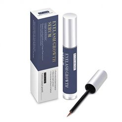 JF-eng Eyelash Growth Serum, Eyebrow Growth Enhancer, 100% Natural Plant Essence Lash Booster for Long, Thick Lashes and Eyebrows (0.17FL.oz / 5ml)