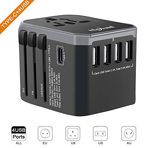 Amazon Coupon Discount Travel Power Plug Adapter,Smart Power USB Wall Charger
