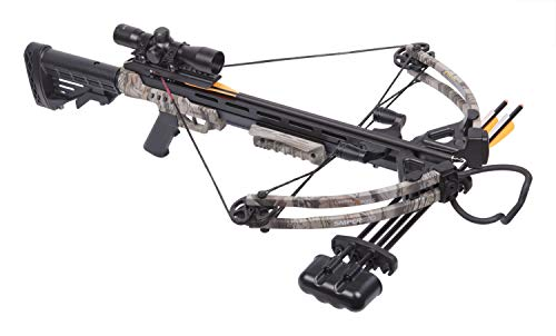 The Best Crossbow For The Money, CenterPoint Sniper 370 Crossbow Package, Camouflage