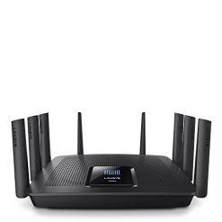 Linksys Max-Stream AC5400 MU-MIMO Tri-Band WiFi Router for Home (Fast Wireless WiFi Router, Gigabit Wireless Router)