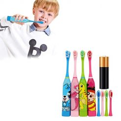 edited Cute Cartoon Soft Children Electric Toothbrush Oral Cleaning Tool Casual, Buy on Amazon At Discount Price With Coupon