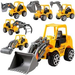 Edited Keland 6Pcs Construction Vehicle Truck Push Engineering Toy Cars Children Kid Play Vehicles, Buy Quality and Top Deal