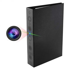 name Hidden Camera, PORTOCAM PO9 Security Book Spy Camera Home Surveillance Nanny Cam with Motion Detection and Night Vision, Built-in 10000mAh Battery Standby up to 2 Years(Video Only)