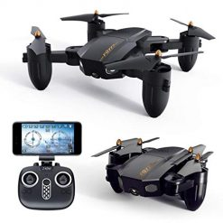 Mandii Mini Quadcopter Drone with Camera WiFi HD Live Video Feed RC Quadcopter, 720P HD Camera Foldable Drone for Kids & Beginners--Altitude Hold, One Key Start, Foldable Arms