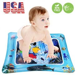 "GREATSSLY Baby Water mat - Inflatable Tummy Time Premium Leakproof Water Play mat for Babies Infants & Toddlers is The Perfect Fun time Activity Center Your Kid's Stimulation Growth 24""X20"""