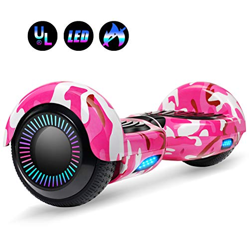 Which Hoverboard Is Best? Felimoda 6.5 Inch Self Balancing Scooter Hoverboard UL2272 Certified Dual Motors w/Led Light Charger for Child and Adult