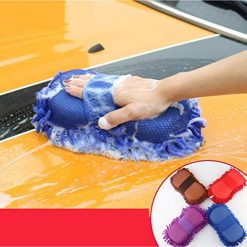 Idomeo Car Wash Sponge Gloves Cleaning Coral Sponge Block Car Cleaning Tool Sponges & Mitts, Buy On Amazon With Discount Coupon
