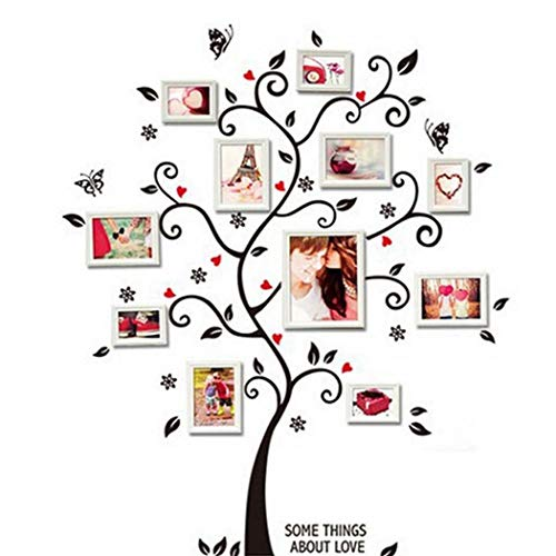edited Home Decor Self-Adhesive Wallpaper Tree Patterns DIY Removable Wall Sticker Wall Stickers