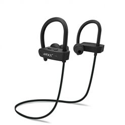 Apekx Bluetooth Earbuds, APEKX Bluetooth Headphones, Noise Canceling Wireless in-Ear Earphones, HiFi Stereo Bass Sports Headset w/Mic, IPX7 Waterproof Wireless Earbuds for Running