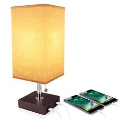USB Table Desk Lamp with USB mobile charger