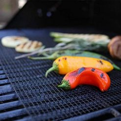 Caiuet Reusable BBQ Grill Mat Non-stick Mesh Outdoor Barbecue Utensil Tool Outdoor Cooking Tools & Accessories