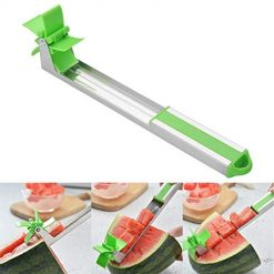 Foshin Stainless Steel Watermelon Fruit Slicer Cutting Tool Windmill Cutter Fruit & Vegetable Tools