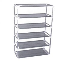 Pesters Multi-layers Shoes Storage Rack Multi-functional Assembly Shoes Shelves Free Standing Shoe Racks