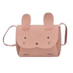 Lioder Children Portable Mini Animal Pattern Single Strap Square Buckle Shoulder Bag Shoulder Bags