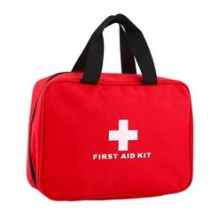 Idomeo Outdoor Travel Emergency Kit Big First Aid Empty Bag Waterproof Portable Bag First Aid Kits