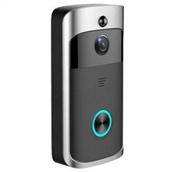 neneleo Durable Practical 166° Wide-Angle Wireless Phone Remote Doorbell Kits