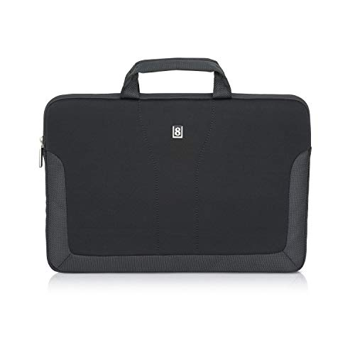 """LEVEL8 13""""-15"""" Laptop Sleeves Case Tablet Cover Bag for Notebook,MacBook Air/Pro (Black)"""