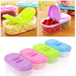 Erholi Food Storage Boxes Home Kitchen Container Sauce Box Case Food Savers & Storage Containers