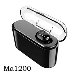 Ladiy Wireless Bluetooth Headset 4.2 Mini Invisible in-Ear Earphone with Charger Headphones