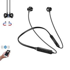 CYONE Bluetooth Earbuds Wireless Neckband Headset Bluetooth 4.1 Headphones for Gym Hiking Cycling Magnetic Wireless Headsets Noise Cancelling with Mic for Phone Android Samsung-02CYONE Bluetooth Earbuds Wireless Neckband Headset Bluetooth 4.1 Headphones for Gym Hiking Cycling Magnetic Wireless Headsets Noise Cancelling with Mic for Phone Android Samsung-02