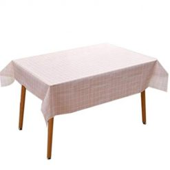 beteral Washable Rectangular Plaid Tablecloth Home Table Topper Decoration Tablecloths