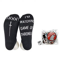 Easysmile Funny Novelty Socks Unisex Cotton Ankle No Show Socks For Game Of Thrones Fans
