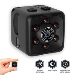 DREZZED SQ11 Black HD Photograph Night Vision Sports Camera 1280 x 960 Dome Cameras