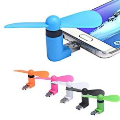 Ladiy Portable Mini Handheld Fan for Android Mobile Personal Fans