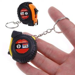 Idomeo Portable Measuring Tool Key Chain Retractable Ruler Tape Measures