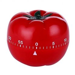 Idomeo Kitchen Cooking Countdown 1-60min 360 Degree Tomato Mechanical Countdown Timer Timers