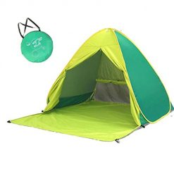 Ladiy Fully Automatic 2 Second Speed Open Outdoor Camping Beach Tent Family Camping Tents