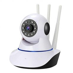 Baorin Night Vision WiFi Wireless Monitor Camera Home Surveillance Cameras Security Monitor Alarm Motion Detection Camera