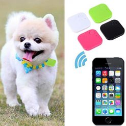 Lioder Mini Bluetooth Square Car Kids Pets Old Man Anti-Lost Tracker Locator Finder GPS Trackers