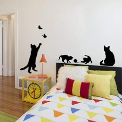 Asatr Home Living Room Bedroom Animal Pattern Removable Wall Sticker Wall Stickers