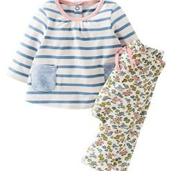 Fiream Girls Cotton Cute Print Long Sleeve Clothing Set