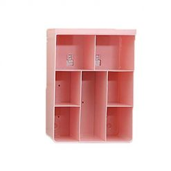 Etuoji Cosmetics Shelf Wall Storage Box Reusable Home Hanging Storage Rack Storage Boxes & Organizers