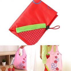 Erholi Practical Reusable Portable Shrinkable Print Drawstring Home Outdoor Shopping Bag Reusable Grocery Bags