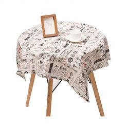 DREZZED Thickened Cotton Tablecloth Home Printed Table Cover Tablecloths