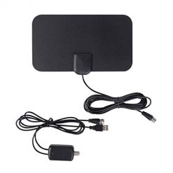 Fanala Durable Practical HD Digital TV Antenna Receive Signal Connecting Adapter TV Antennas With Discount Coupon Code Amazon